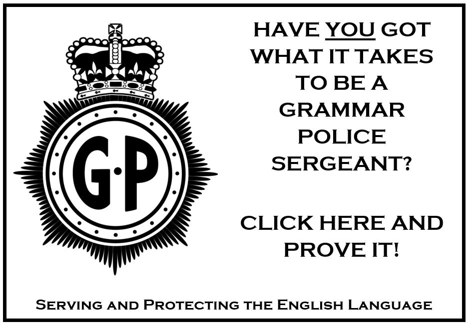 Grammar Police Link